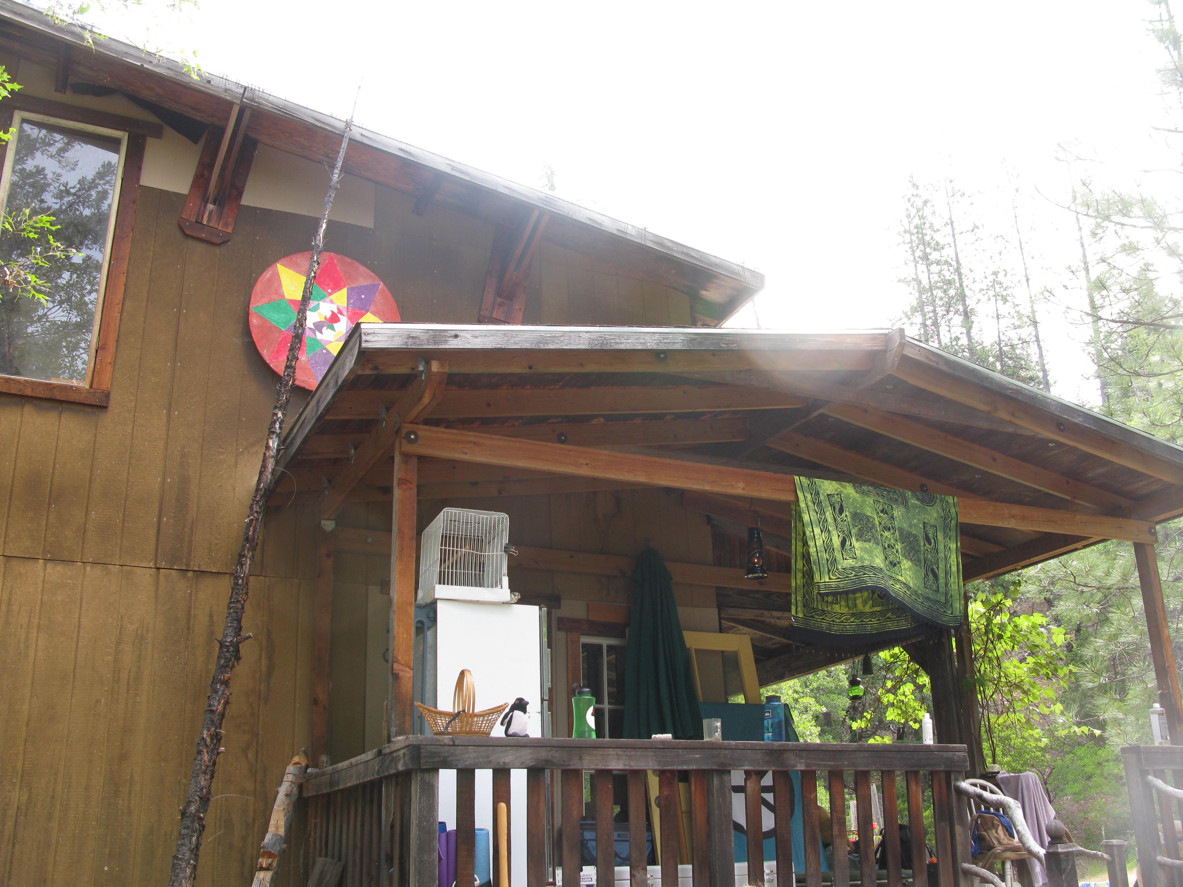 Cabin, Covelo Yoga and Healing Festival