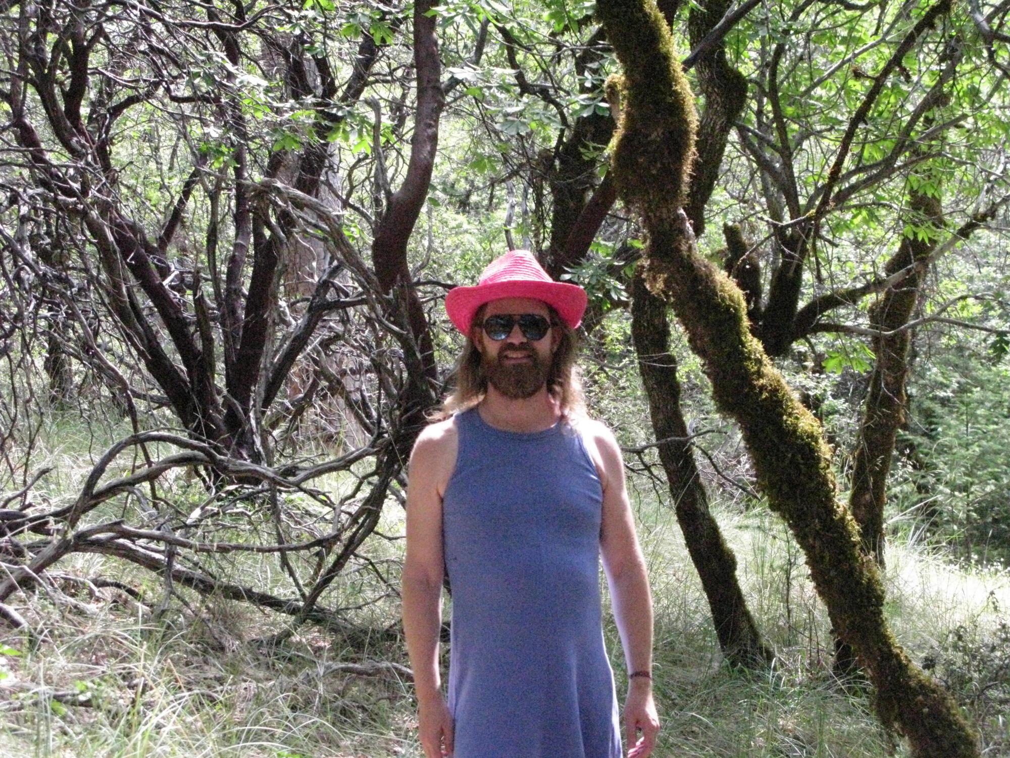 Stardust on Trail to the Eel River, Covelo Yoga and Healing Festival